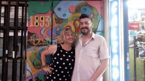 Gabriela Borrelli Azara y Federico Di Paolo en Radio Atomika