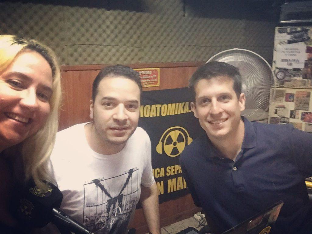 JUAN MARINO EN RADIO ATOMIKA