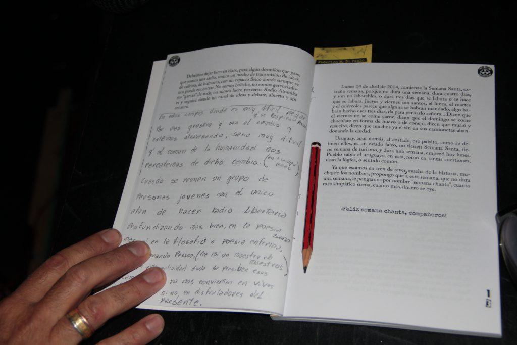 Presentación del libro atómiko