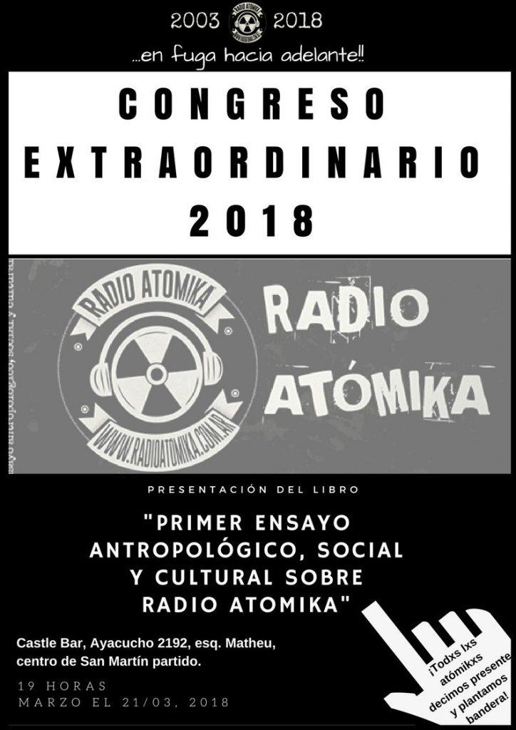 Congreso Extraordinario Radio Atomika 2018