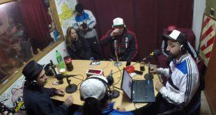 Hugo Lobo Radio Atomika Pablo Lescano y Pepo